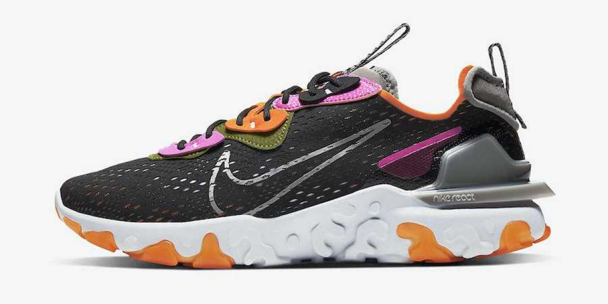 Nike React Vision Black Orange Fuchsia Coming Soon