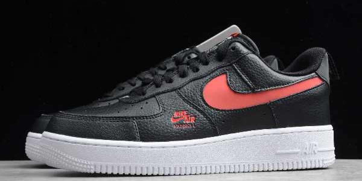 """2020 Nike's Air Force 1 Low LV8 Utility Gets a """"Bred"""" Makeover"""