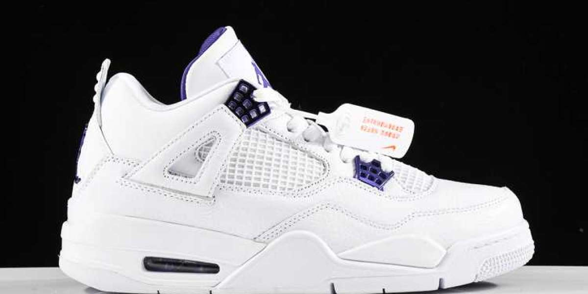 Pure white Air Jordan 4 is coming! This spring and summer are its world again!