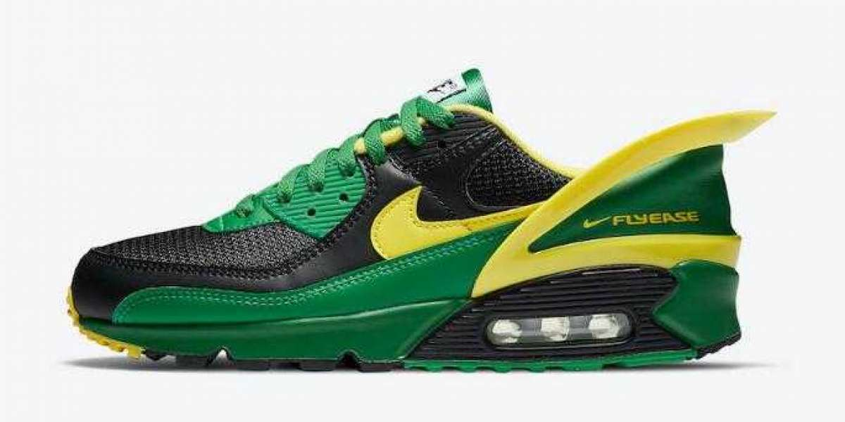 Nike Air Max 90 FlyEase Oregon Ducks Set to Arrive Soon