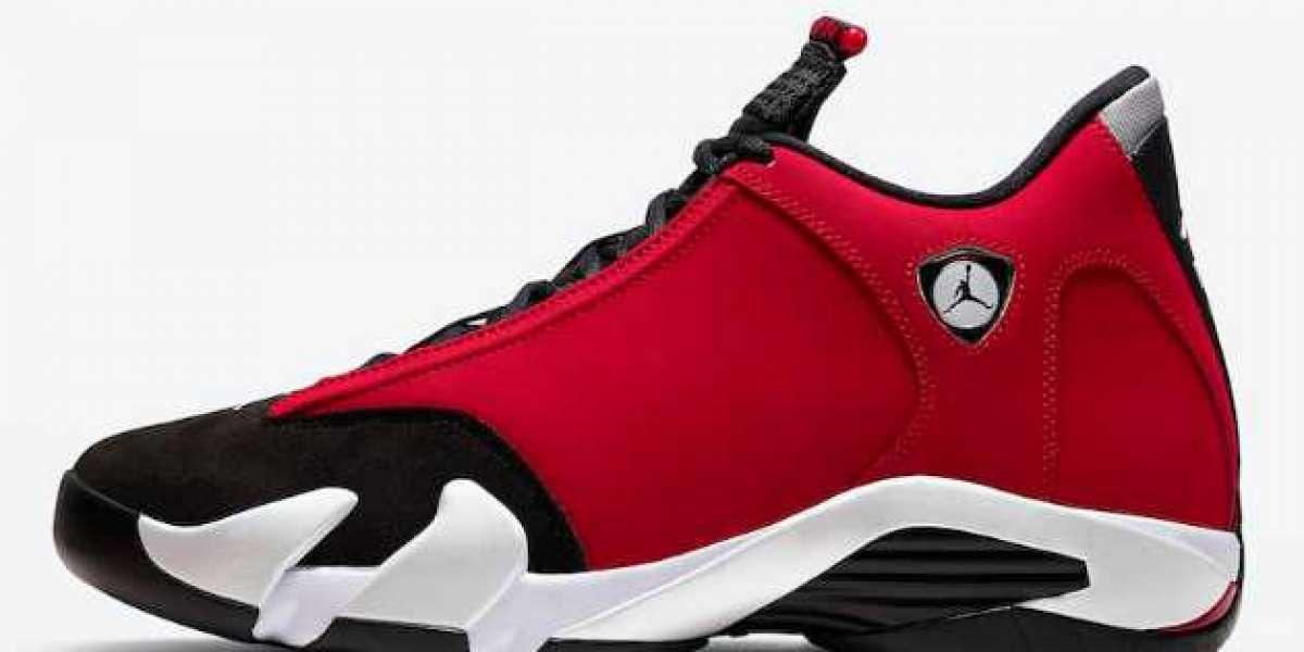 """Buy Air Jordan 14 """"Gym Red"""" Shoes 487471-006"""