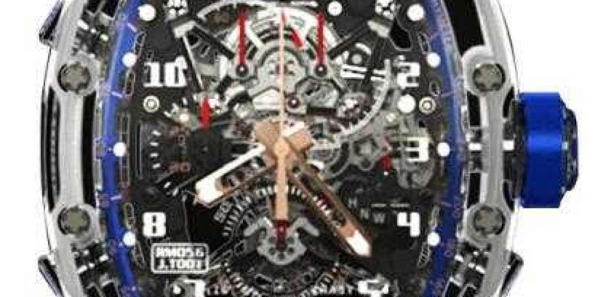 Richard Mille RM 011-RM 011 America 6 (Black Ti/Orange)  watch