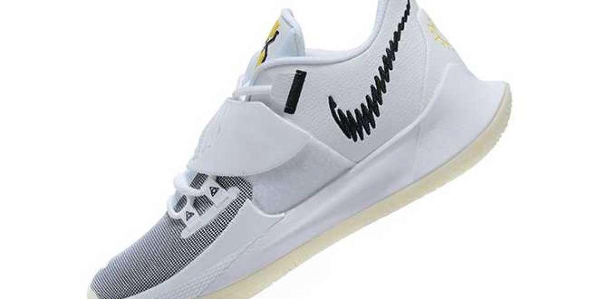 """Nike Kyrie Low 3 """"Eclipse"""" White/Black Glow in the Dark 2020 CJ1286-100"""
