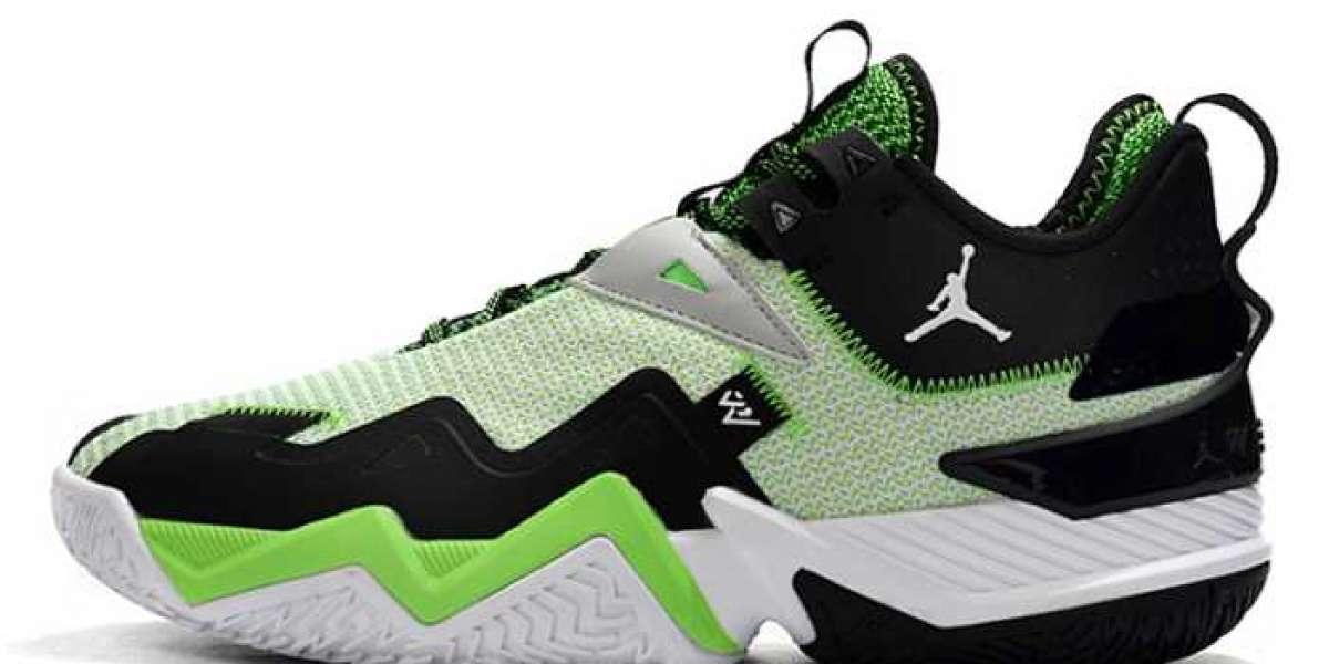 "Jordan Westbrook One Take ""Rage Green"" 2020 New Released CJ0780-103"