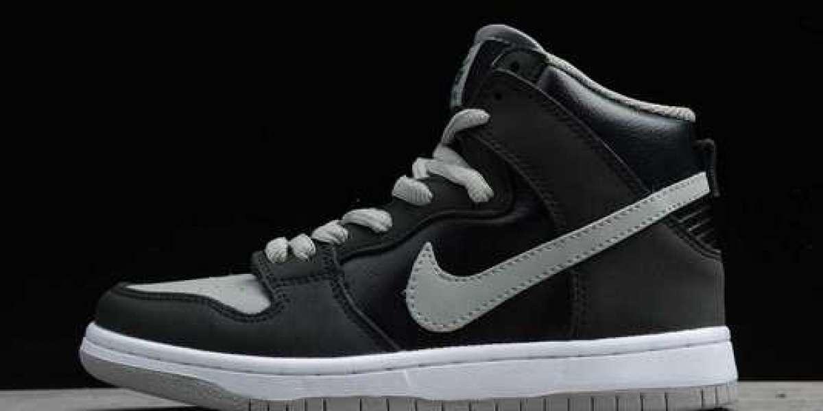 Nike SB Dunk Mid Pro PRM Black/Grey 2020 Newest CI2692-700
