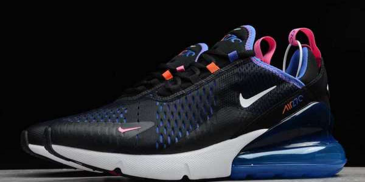 Nike Air Max 270 Black Astronomy Blue 20 20 New Released DC1858-001
