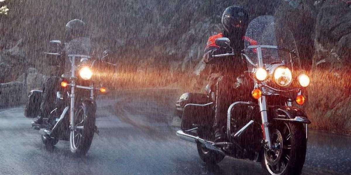 Does the insurance cover me if I slip on the motorcycle because of the rain?