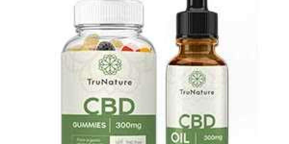 Trunature CBD Gummies natural Ingredients !