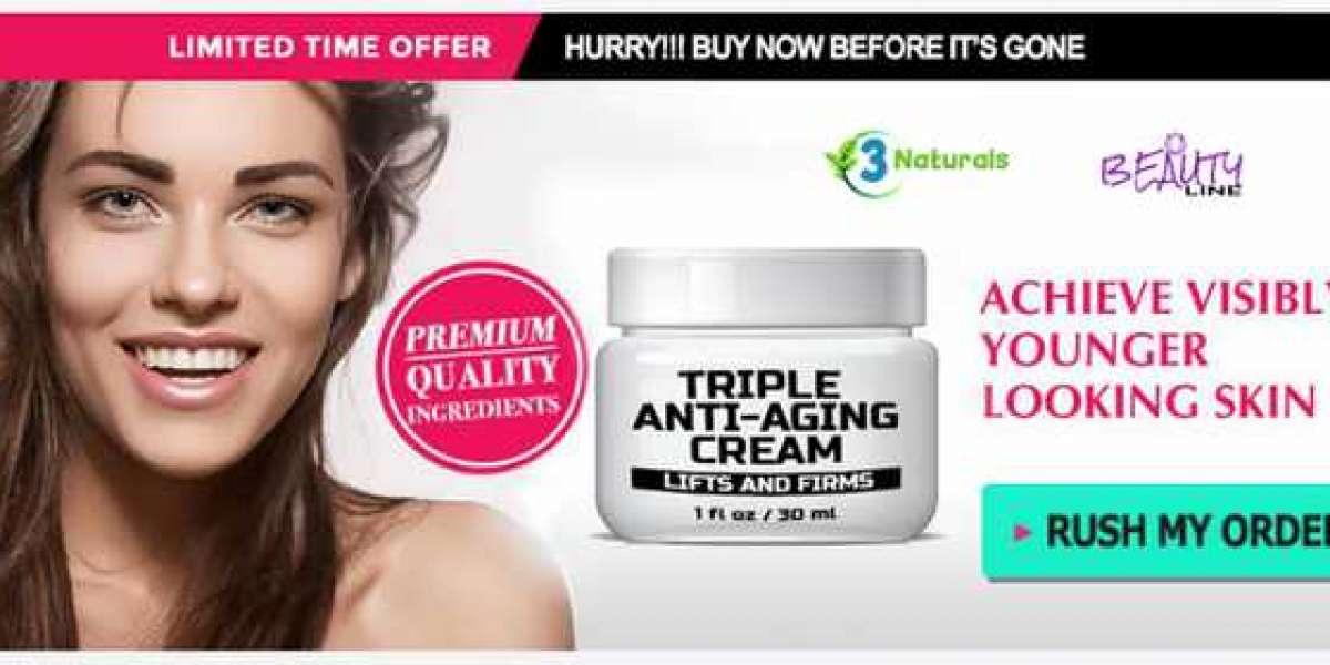 Triple Anti-Aging Cream – Get Young Skin!