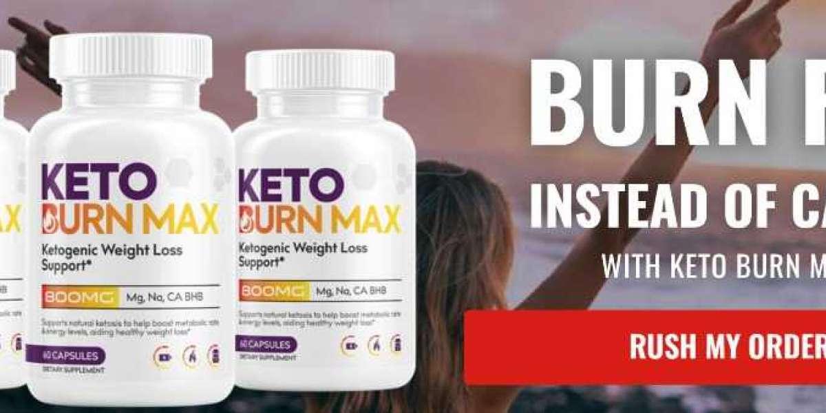Keto Burn Max UK Reviews Fat Burning Pills!