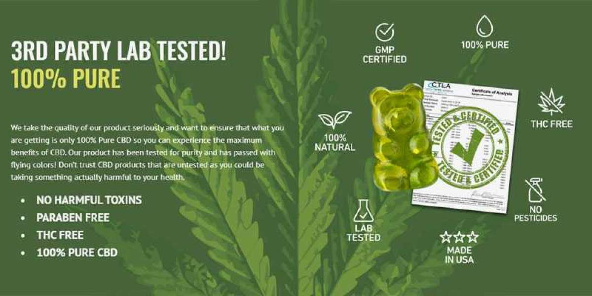 Pure Strength CBD Gummies has No Side Effects on Body